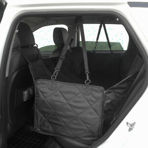 For Ford Car Dog Back Seat Cover Hammock Pet Truck Mat Travel Waterproof Black