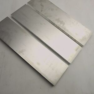 1 Thick 6061 Aluminum Plate 5 5 X 20 25 Long Qty 3 Flat Stock Sku 180032