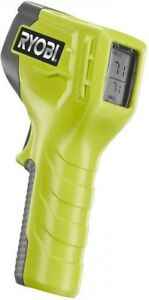 Ryobi Infrared Thermometer Detects Near Doors windows Compact Portability Easy