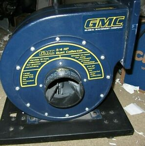 Gmc Dust Extractor collector On Wheels 3 4 Hp rdc100m 7009