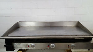Keating Miracle Table Top Flat Grill 57x24 Natural Gas Tested 60bfld Griddle