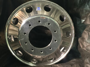 1 19 5 X 6 New Alcoa Wheel Dodge Ram 4500 5500 New 10 Lug Polished 7632