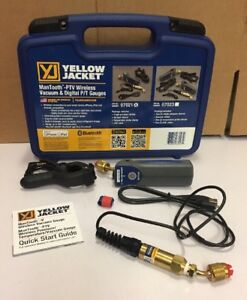 Yellow Jacket Man tooth Ptv Wireless Vacuum Gauge Digital P t Gauges 67021
