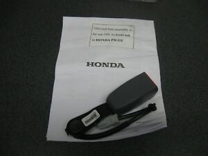 New Honda Oem Front Left Seat Belt Buckle pn04816 s9v 305zb