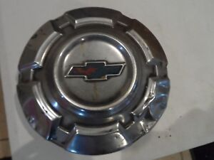Vintage Dog Dish 15 Dish Hubcap 60 s 70 s Chevy Pick Up Truck Bowtie Patina
