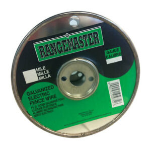 Rangemaster Galvanized Steel Electric Fence Wire 1320 Ft L