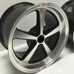 Afs Wheels Fits 1994 2004 Ford Mustang 18 X 10 5 Mach 1 Style Rear Rim Single