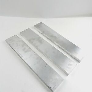 1 Thick 6061 Aluminum Plate 3 375 X 17 Long Qty 3 Flat Stock Sku 174801