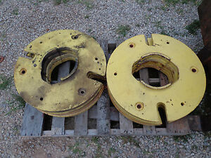 John Deere 50 520 530 60 620 630 70 720 730 80 820 830 Wheel Weights A3404r 2