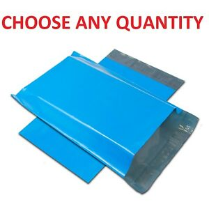 14 5x19 Blue Poly Mailers Shipping Envelopes Self Sealing Mailing Bags 14 X 19