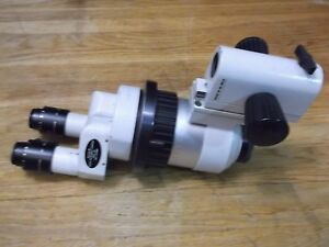 Wild Heerbrugg M7a Stero Microscope With 20x Eyepieces Switzerland