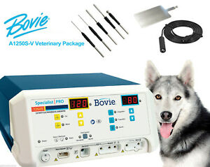 New Bovie Specialist Pro A1250s v 120w Electrosurgical Generator W vet Package