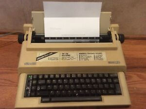 Olivetti 6500md Portable Electronic Typewriter Tested Ribbon Works