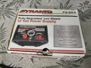 Pyramid Bench Power Supply Ac to dc Power Converter 5 0 Amp Power Supply