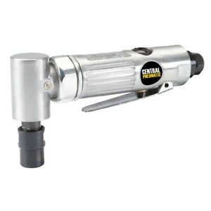 Central Pneumatic 1 4 In Air Angle Die Grinder Great For Tight Or Angled