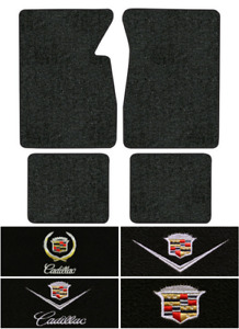 1965 1970 Cadillac Deville Floor Mats 4pc loop 2dr Coupe Convertible