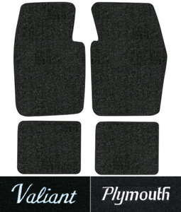 1974 1976 Plymouth Valiant Floor Mats 4pc Cutpile