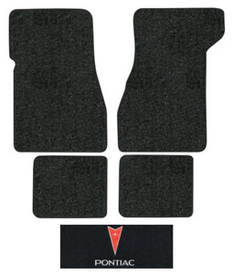 1974 1976 Pontiac Grand Prix Floor Mats 4pc Cutpile