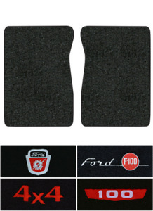 1965 1972 Ford F 100 Floor Mats 2pc Loop