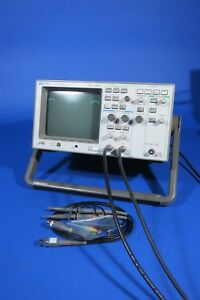 Hp 54600b 100mhz 2 Channel Oscilloscope With Probe Set Tested Working