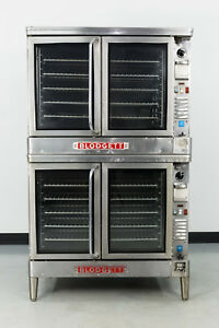 Used Blodgett Ef 111 Double Deck Electric Convection Oven 440v