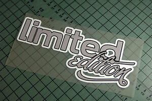 Limited Edition Sticker Decal Vinyl Jdm Drift Euro Lowered Illest Fatlace