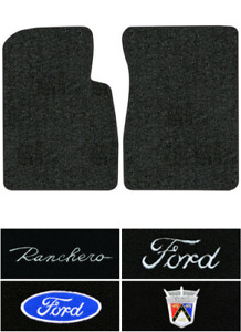 1957 1958 Ford Ranchero Floor Mats 2pc Loop