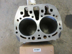 John Deere B Cylinder Block B2500r Bored 125 With New Pistons Pins Rings