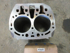 John Deere B Cylinder Block B2500r Bored 090 With New Pistons Pins Rings 3