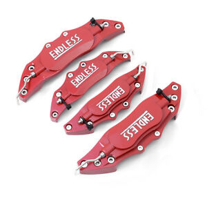 4x3d Endless Red Caliper Covers Aluminum Car Front And Rear M S Audi Mercedes Vw