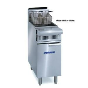 Imperial Ihr f2525 Diamond Series 25 25 Split Top Fryer