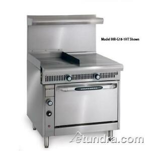 Imperial Ihr g18 1ht c Diamond 18 In Griddle W Hot Top Convection Oven