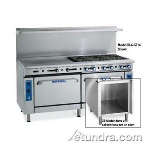 Imperial Ir 2 g36 c xb 48 In Range W 2 Burners Griddle Convection Oven