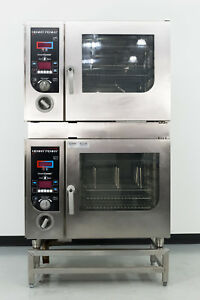 Used Henny Penny Smartcombi Gsc611 Double Deck Gas Combi oven