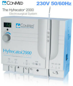 Conmed Hyfrecator 2000 35w High Frequency Electrosurgical Unit 230v 7 900 230