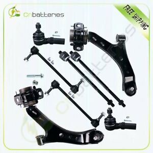 New 8pc Front Complete Suspension Kit Control Arm For 2005 2009 Ford Mustang