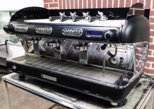 Sanremo Verona Restaurant Equipment 3 Group Commercial Espresso Coffee Machine
