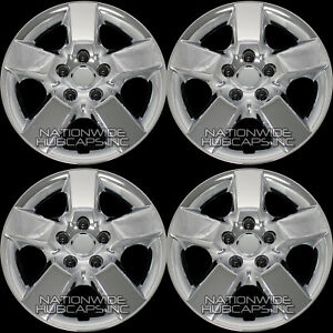 4 Fits Nissan Rogue 2008 2015 Chrome 16 Wheel Covers Snap On Full Rim Hub Caps