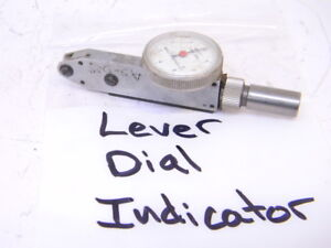 Used Mueller Gage Co Lever Dial Test Indicator type 303