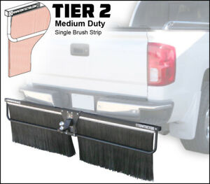 Towtector Mud Flap 96 Wide 20 Tall Brush Strip For 2 5 Receiver