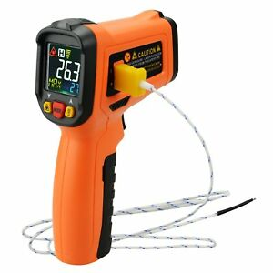 Digital Display Infrared Ir Laser Thermometer K type Thermocouple 58 1472 f