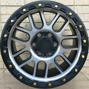 4 New 17 Wheels Rims For Avalanche 2500 4wd Silverado 2500 3500 8 Lug 262