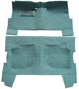 1960 Chevy Biscayne Carpet Replacement Tuxedo Complete Fits 4dr Sedan