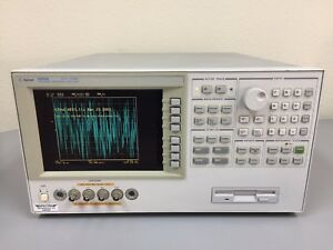 Agilent Hp Keysight 4294a Precision Impedance Analyzer 40hz 110mhz Tested