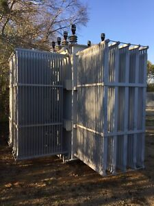 Ge Substation Transformer 7500 Kva Primary 12470 With Taps Secondary 4160y 2400