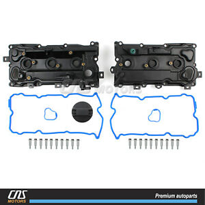 Valve Cover W Gaskets Lh Rh For 09 14 Nissan Murano Quest 3 5l 13264jp01a