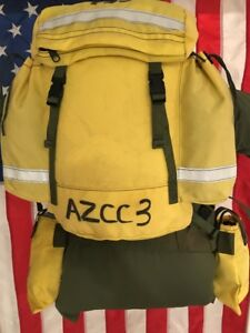 Fss Vintage 1995 Wild Land Firefighting Field Pack Harness Pack Belt 2pouches