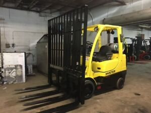 2011 Hyster 6000 Pound Forklift With Side Shift Dual Forks