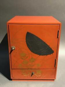 Japanese Antique Lacquer With Makie Box
