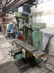 Bridgeport Style Heavy Duty Vertical Milling Machine
